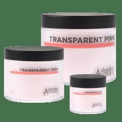 Acryl Pulver Transparent Pink