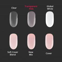 Vergleichsbild Astonishing Arcyl Pulver Transparent Pink