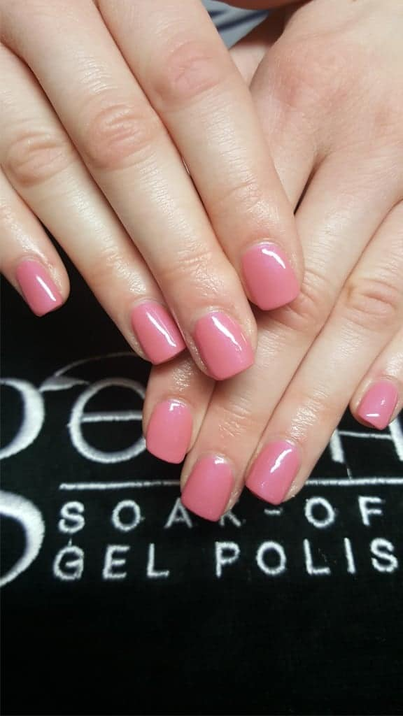 gelish in rose