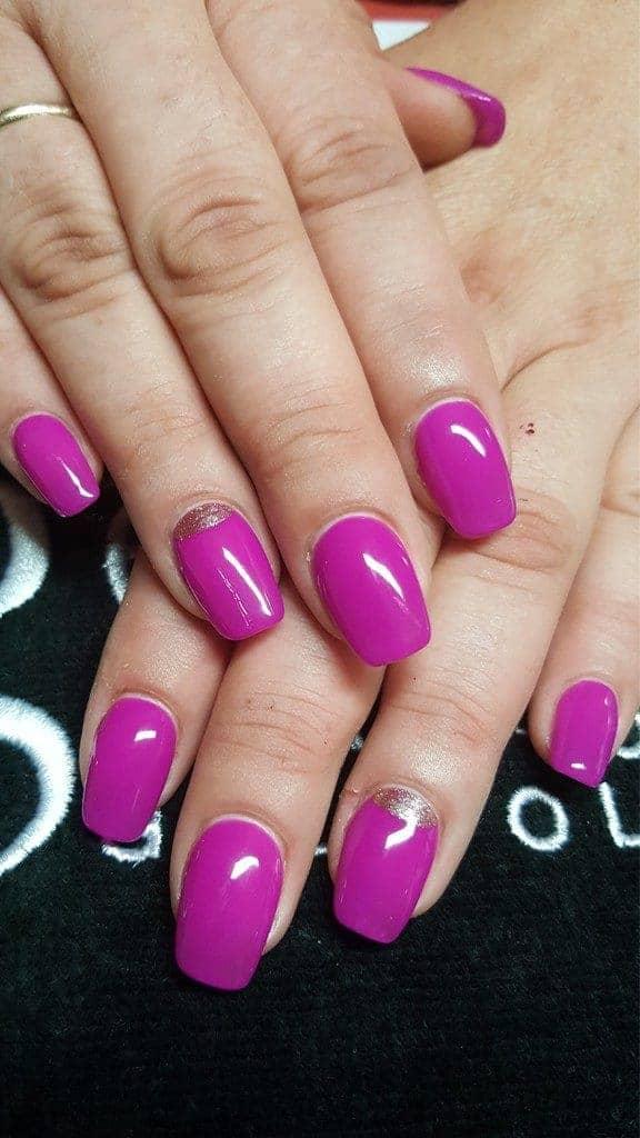 Gellack by gelish in violett