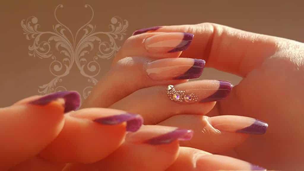 Violettes French - Acryl