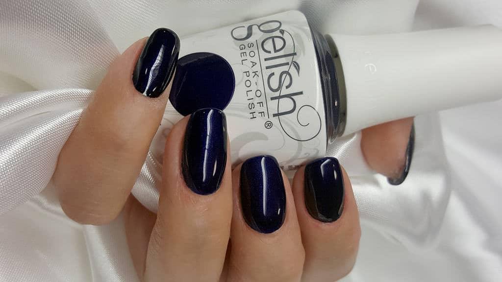 gelish blau
